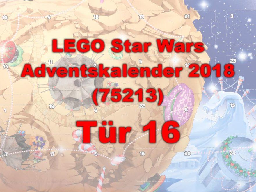 LEGO® Star Wars™ 75213 Adventskalender 2018 - Tür 16 | ©Brickzeit