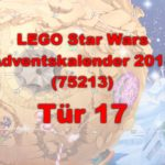 LEGO® Star Wars™ 75213 Adventskalender 2018 - Tür 17 | ©Brickzeit