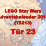 LEGO® Star Wars™ 75213 Adventskalender 2018 - Tür 23 | ©Brickzeit