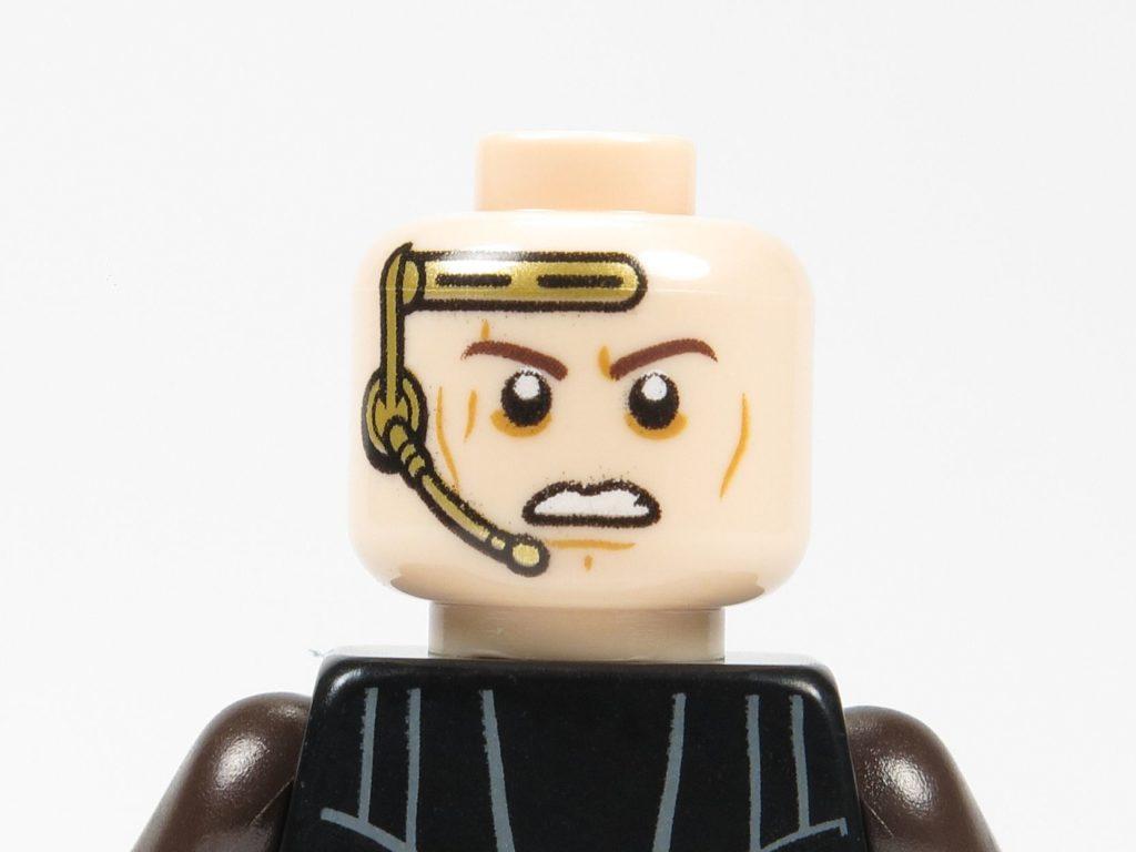 LEGO® Star Wars™ 75214 Anakin Skywalker - Gesicht wütend | ©2018 Brickzeit