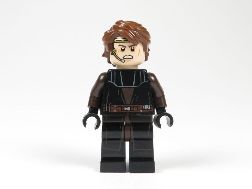 LEGO® Star Wars™ 75214 Anakin Skywalker - Vorderseite, alternatives Gesicht | ©2018 Brickzeit