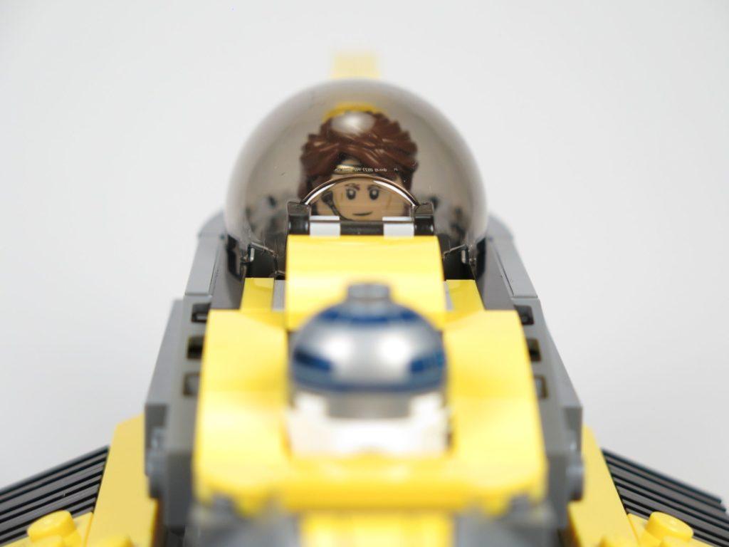 LEGO® Star Wars™ 75214 - Anakin im Cockpit | ©2018 Brickzeit