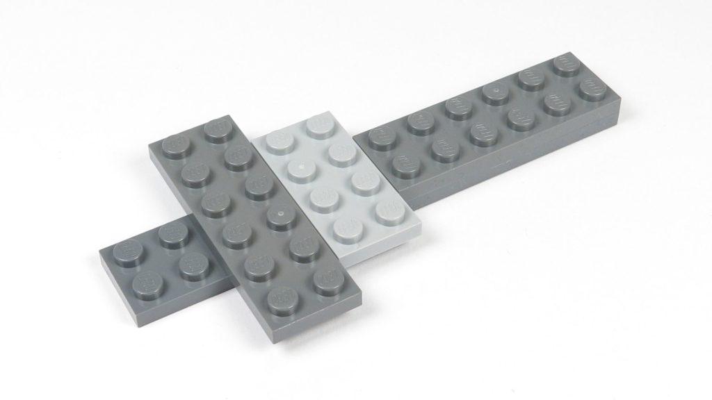 LEGO® Star Wars™ 75214 Bauabschnitt 1 - erste Bausteine | ©2018 Brickzeit
