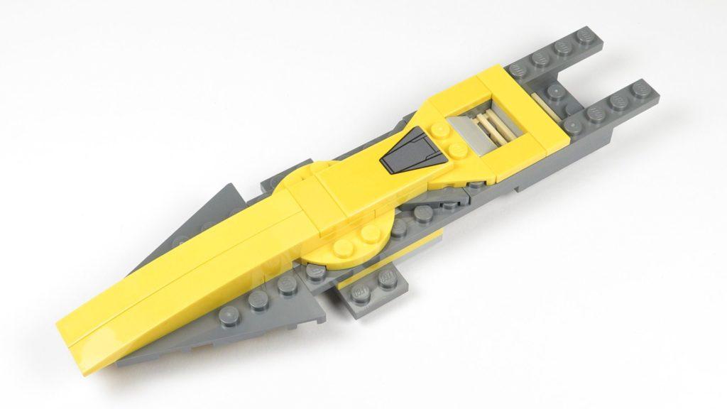 LEGO® Star Wars™ 75214 Bauabschnitt 1 - Rumpfteil mit Spitze | ©2018 Brickzeit
