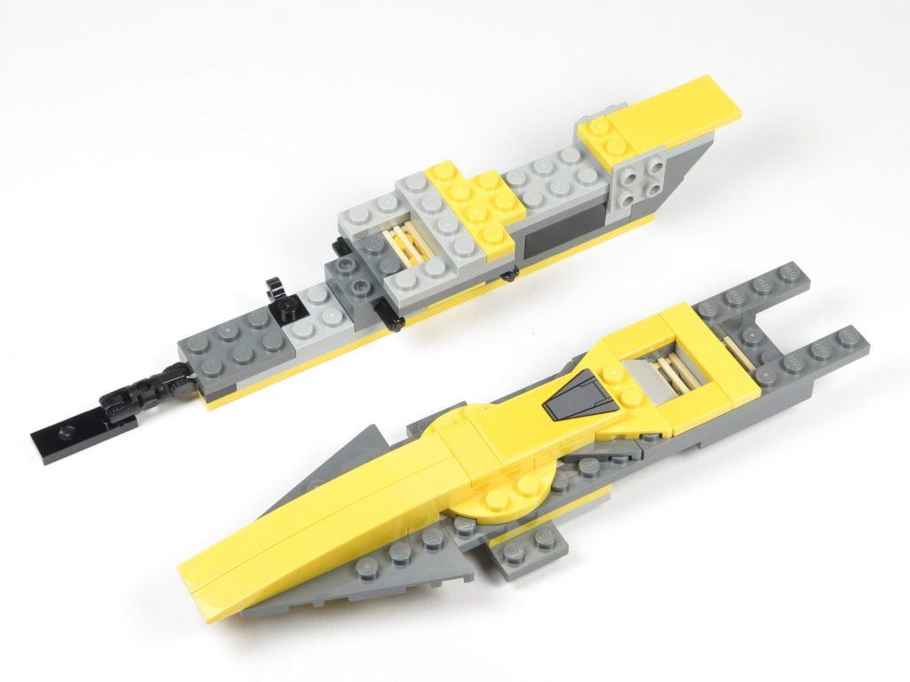 LEGO® Star Wars™ 75214 Bauabschnitt 1 - Rumpfteil 1 und 2 | ©2018 Brickzeit