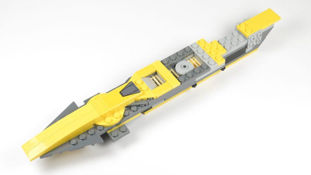 LEGO® Star Wars™ 75214 Bauabschnitt 1 fertig, vorne links | ©2018 Brickzeit