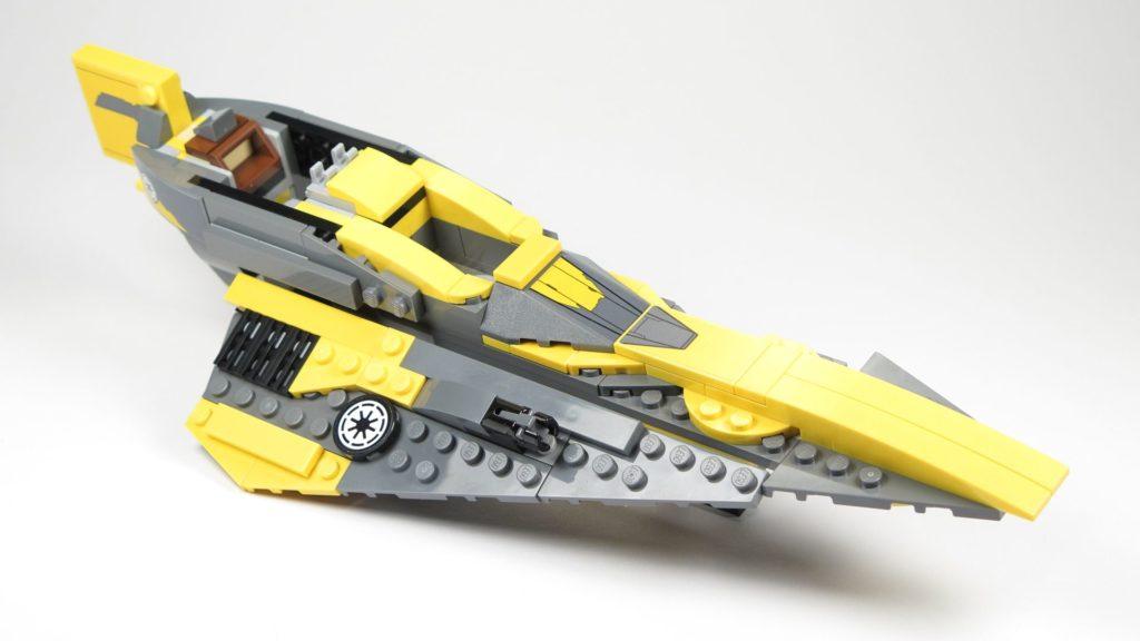 LEGO® Star Wars™ 75214 Bauabschnitt 2 - vorne, rechts| ©2018 Brickzeit