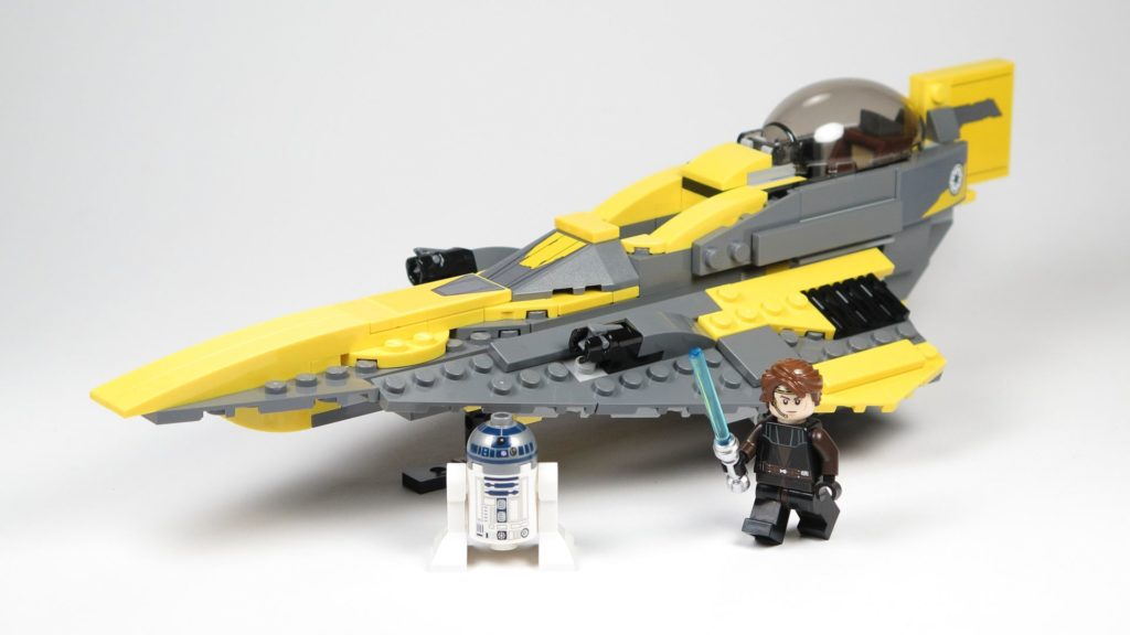 LEGO® Star Wars™ 75214 Anakins Jedi Starfighter mit Minifiguren | ©2018 Brickzeit