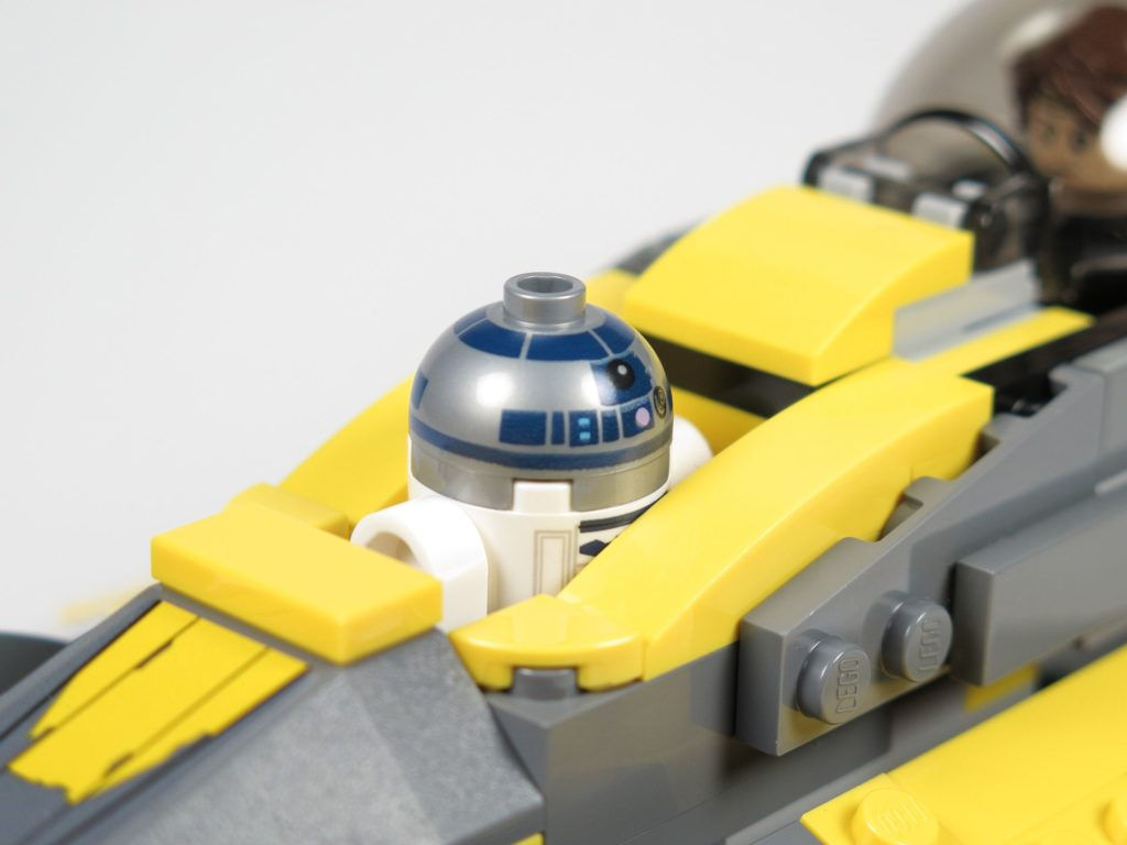 LEGO® Star Wars™ 75214 - R2-D2 an Board | ©2018 Brickzeit