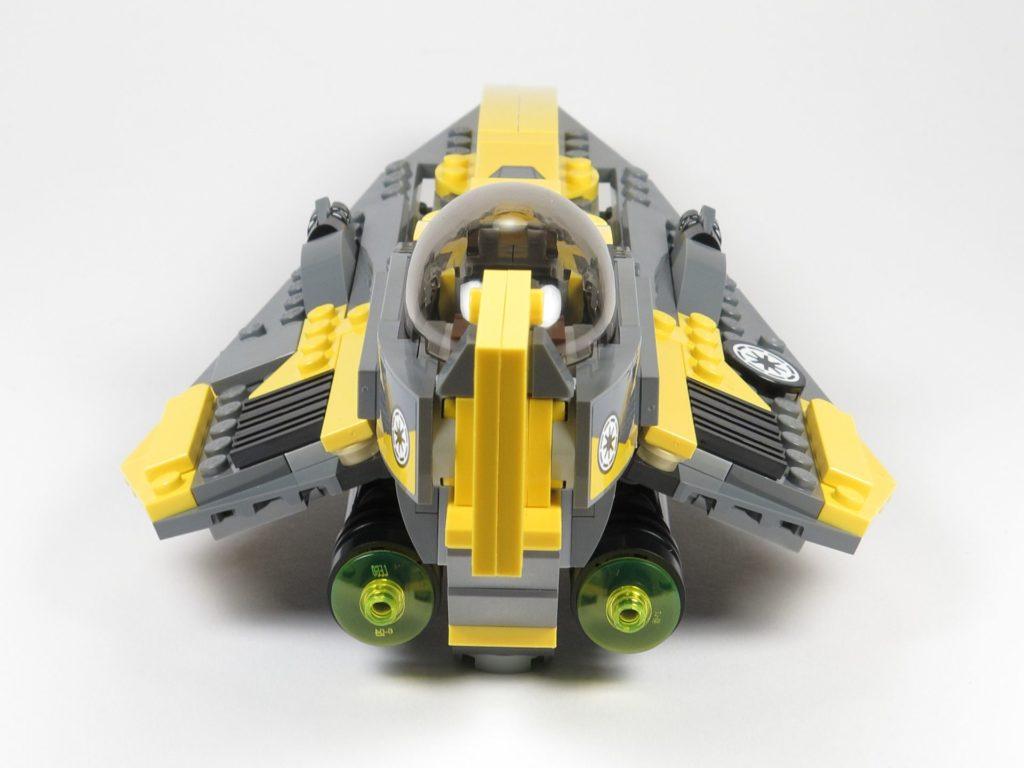 LEGO® Star Wars™ 75214 Anakins Jedi Starfighter - Rückseite | ©2018 Brickzeit