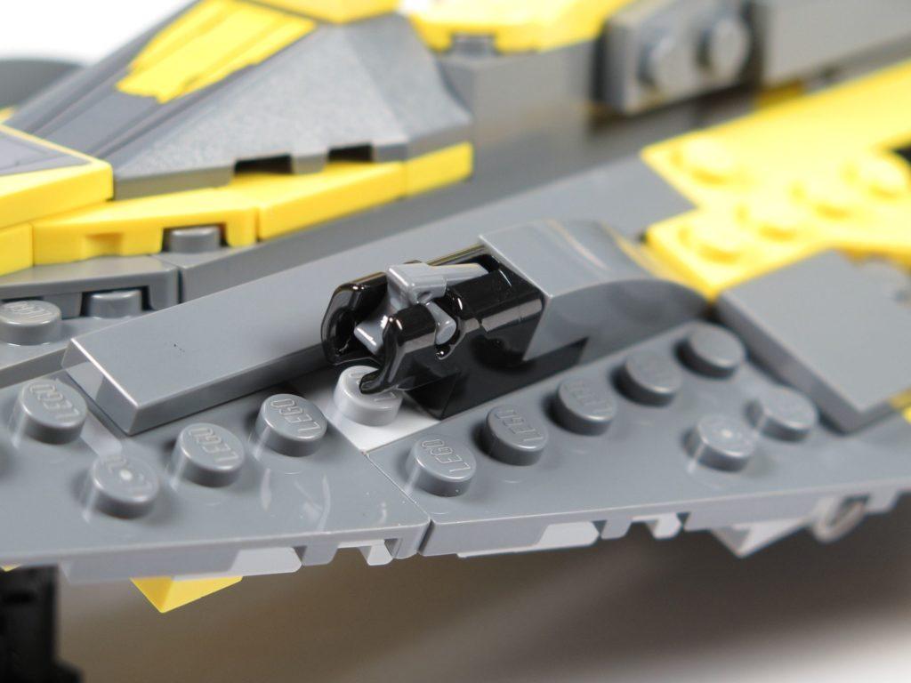 LEGO® Star Wars™ 75214 Anakins Jedi Starfighter - Shooter | ©2018 Brickzeit