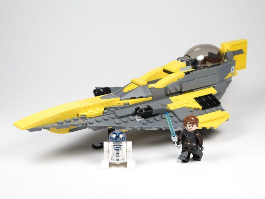 LEGO® Star Wars™ 75214 Anakins Jedi Starfighter - Titelbild | ©2018 Brickzeit