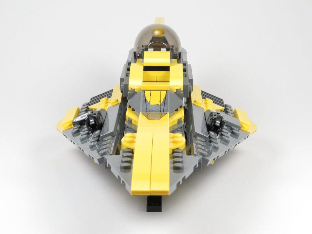 LEGO® Star Wars™ 75214 Anakins Jedi Starfighter - Vorderseite | ©2018 Brickzeit