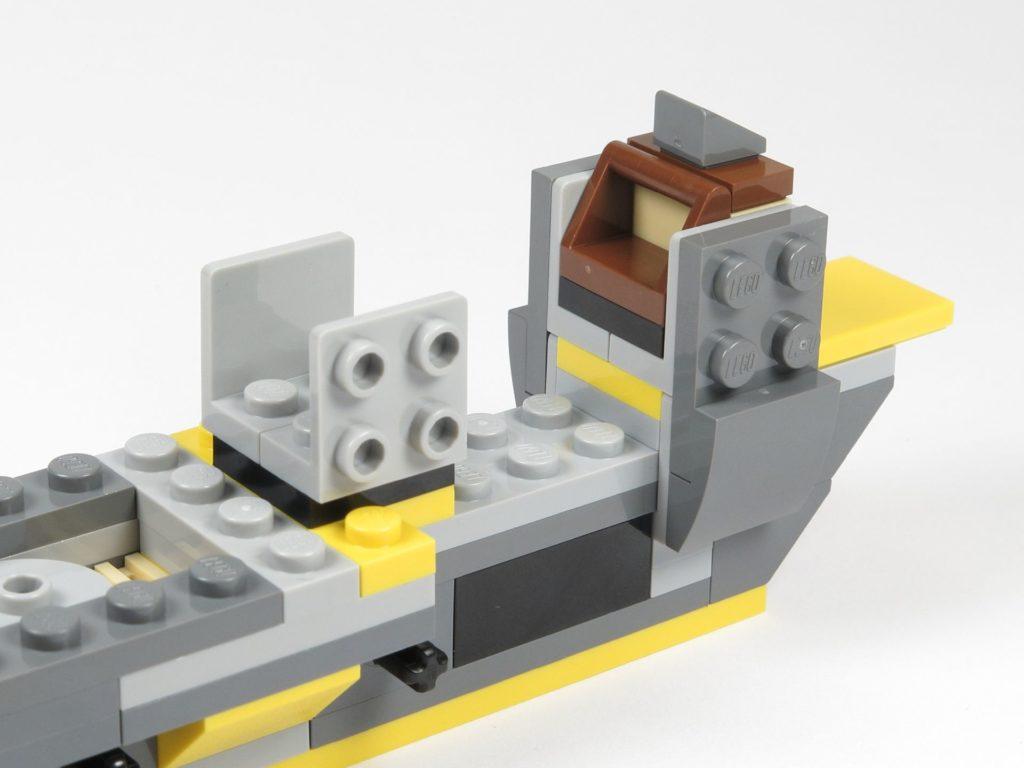LEGO® Star Wars™ 75214 Bauabschnitt 2 - Cockpit | ©2018 Brickzeit
