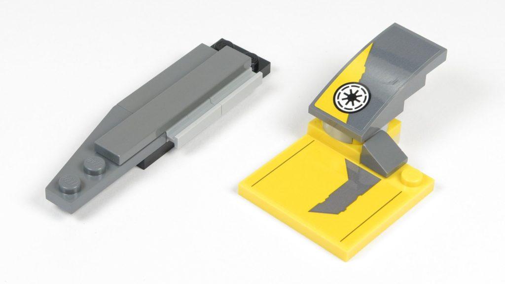 LEGO® Star Wars™ 75214 Bauabschnitt 2 - Einzelteile Heck | ©2018 Brickzeit