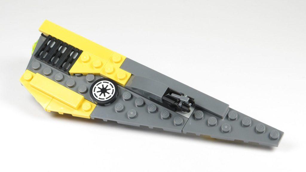 LEGO® Star Wars™ 75214 Bauabschnitt 2 - rechter Flügel | ©2018 Brickzeit