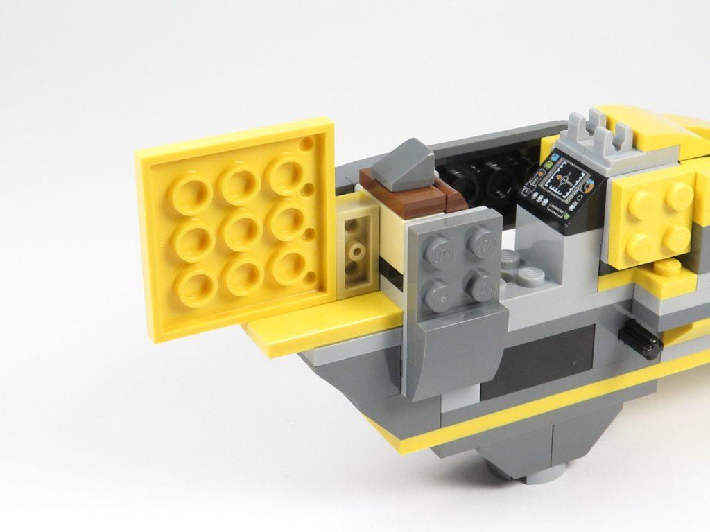 LEGO® Star Wars™ 75214 Bauabschnitt 2 - Heck, rechte Seite | ©2018 Brickzeit