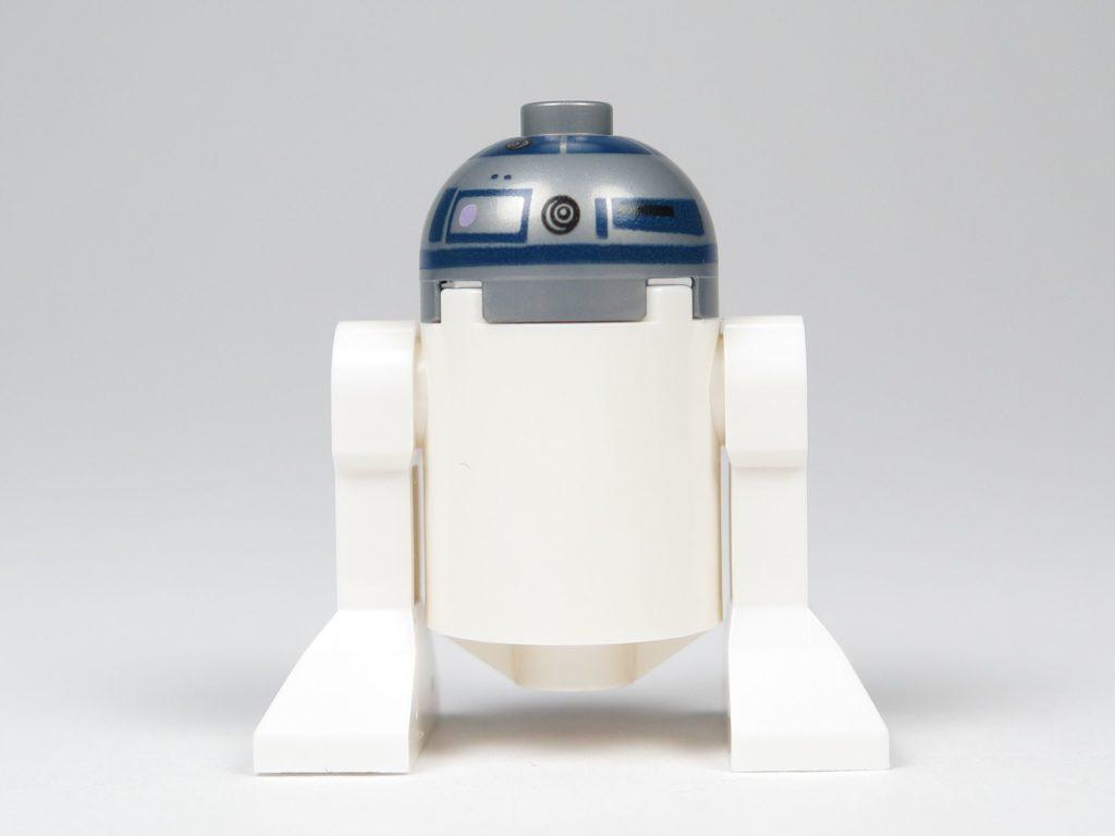 LEGO® Star Wars™ 75214 R2-D2 - Rückseite | ©2018 Brickzeit