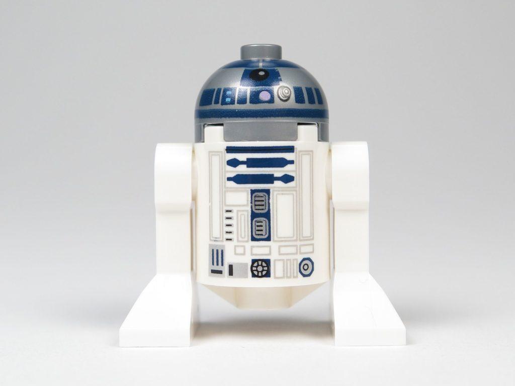 LEGO® Star Wars™ 75214 R2-D2 - Vorderseite | ©2018 Brickzeit