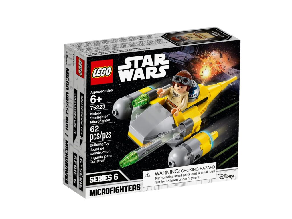 LEGO® Star Wars™ 75223 Naboo Starfighter Microfighter | ©LEGO Gruppe