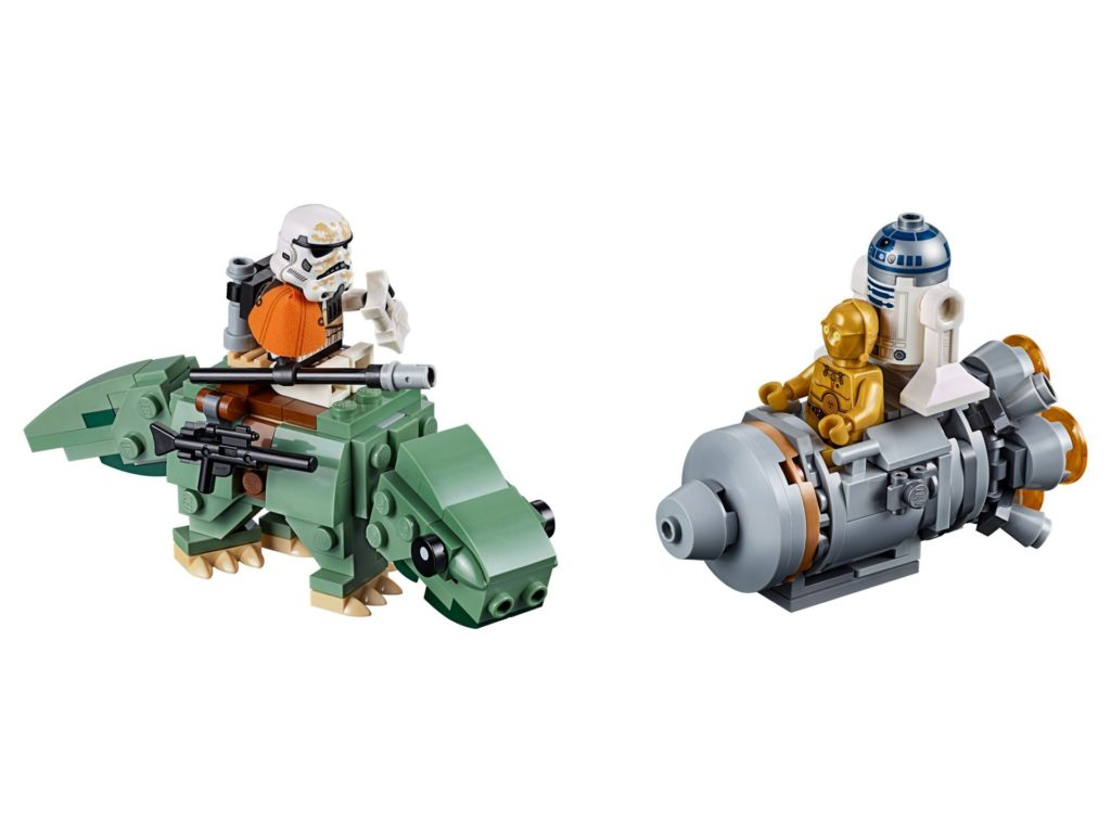 LEGO® Star Wars™ 75228 Escape Pod vs. Dewback Microfighters | ©LEGO Gruppe