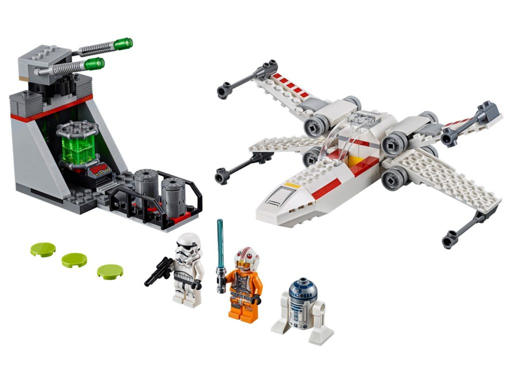 LEGO® Star Wars™ 75235 X-Wing Starfighter Trench Run | ©LEGO Gruppe