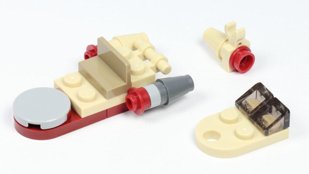 LEGO® Star Wars™ 75213 Adventskalender 2018 - Tür 1 - Landspeeder Aufbau | ©Brickzeit