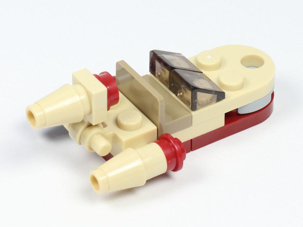 LEGO® Star Wars™ 75213 Adventskalender 2018 - Tür 1 - Landspeeder hinten, rechts | ©Brickzeit