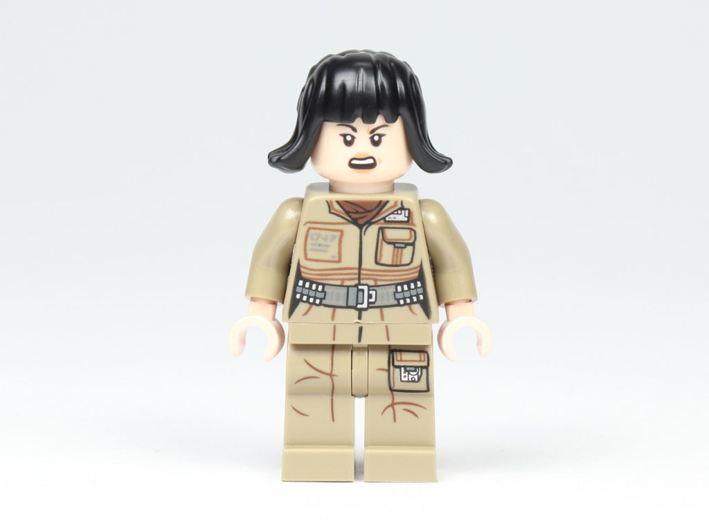 LEGO® Star Wars™ 75213 Adventskalender 2018 - Tür 2 - Rose Tico, alternatives Gesicht | ©Brickzeit