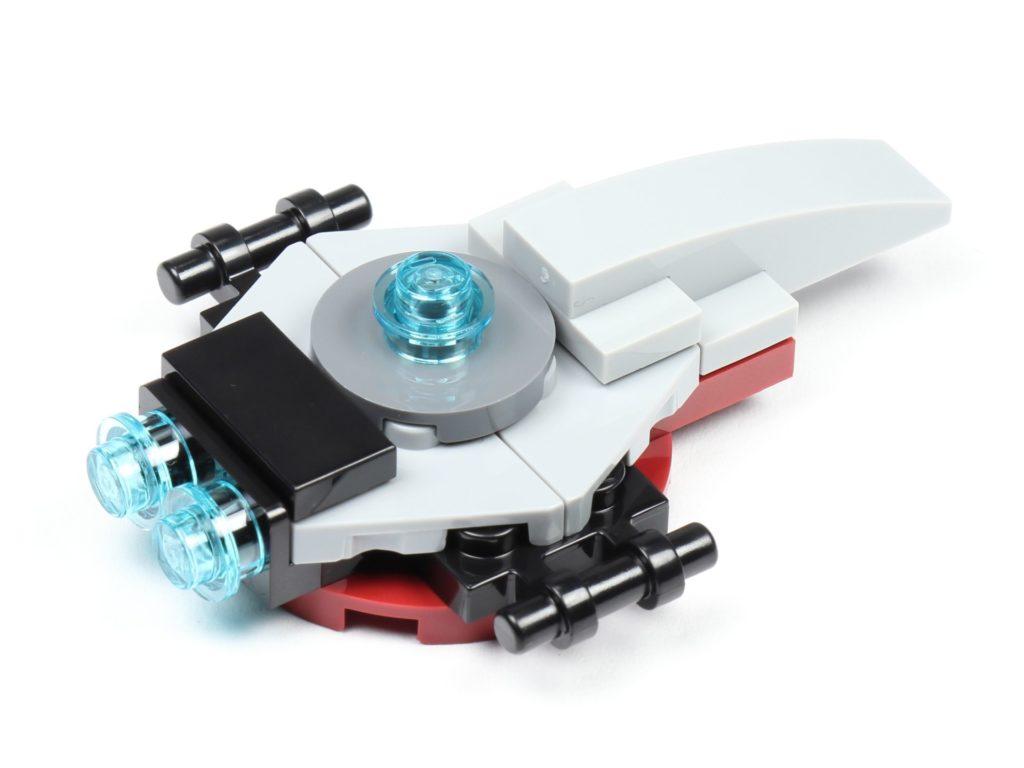 LEGO® Star Wars™ 75213 Adventskalender 2018 - Tür 3 - The Arrowhead, hinten rechts | ©Brickzeit