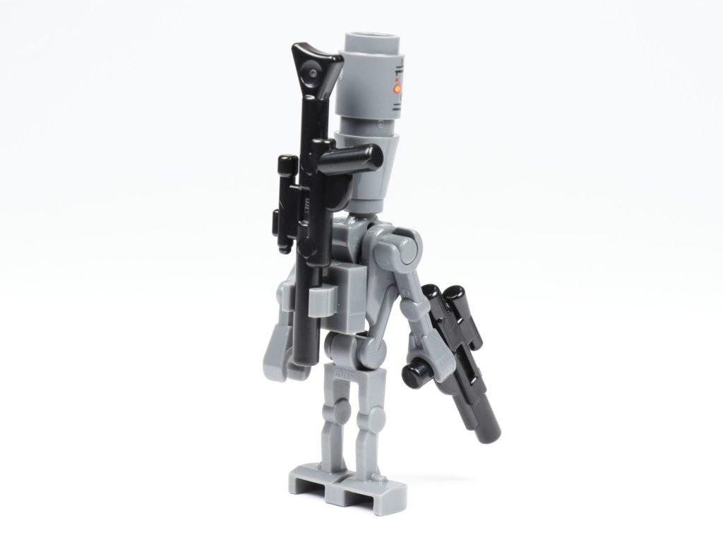 LEGO® Star Wars™ 75213 Adventskalender 2018 - Tür 5 - IG-88, hinten,rechts | ©Brickzeit