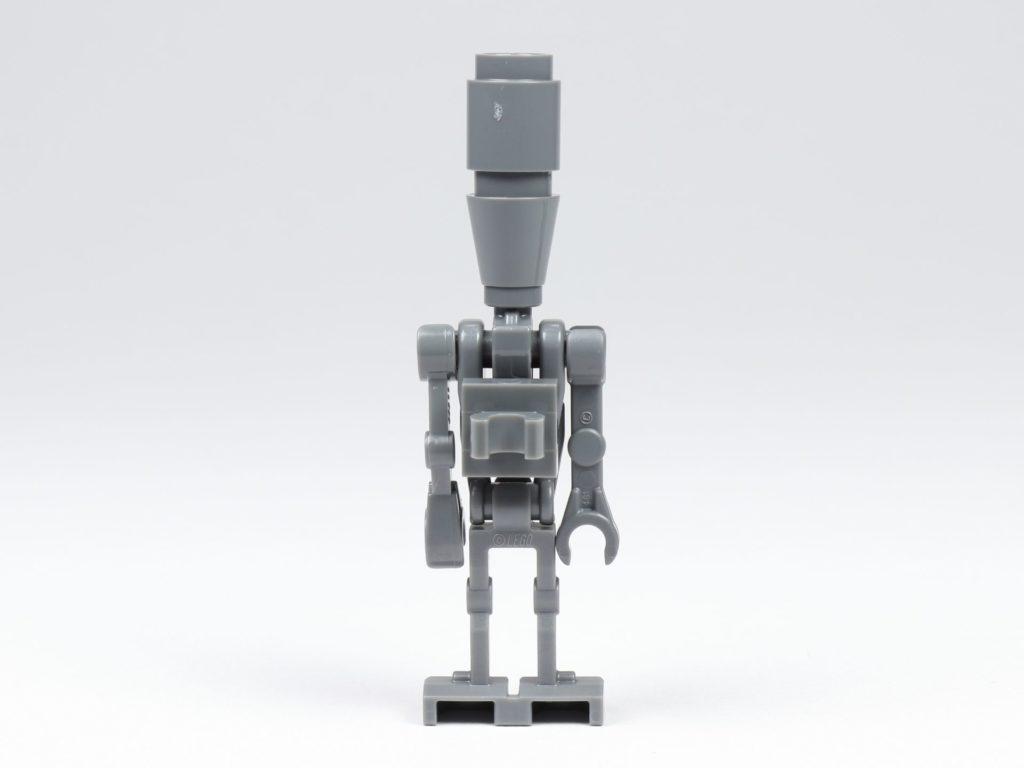 LEGO® Star Wars™ 75213 Adventskalender 2018 - Tür 5 - IG-88, Rückseite ohne Waffe | ©Brickzeit