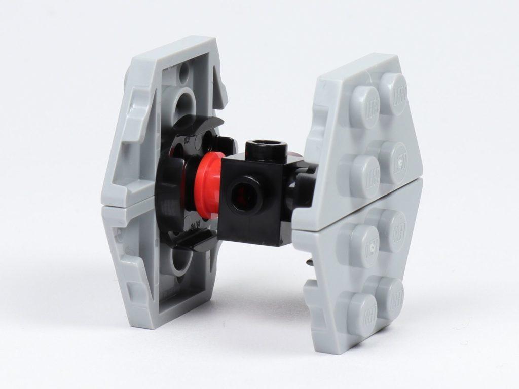 LEGO® Star Wars™ 75213 Adventskalender 2018 - Tür 18 - First Order TIE Fighter - Rückseite | ©Brickzeit