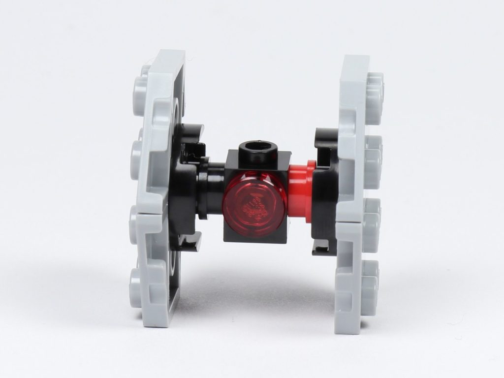LEGO® Star Wars™ 75213 Adventskalender 2018 - Tür 18 - First Order TIE Fighter - Vorderseite | ©Brickzeit