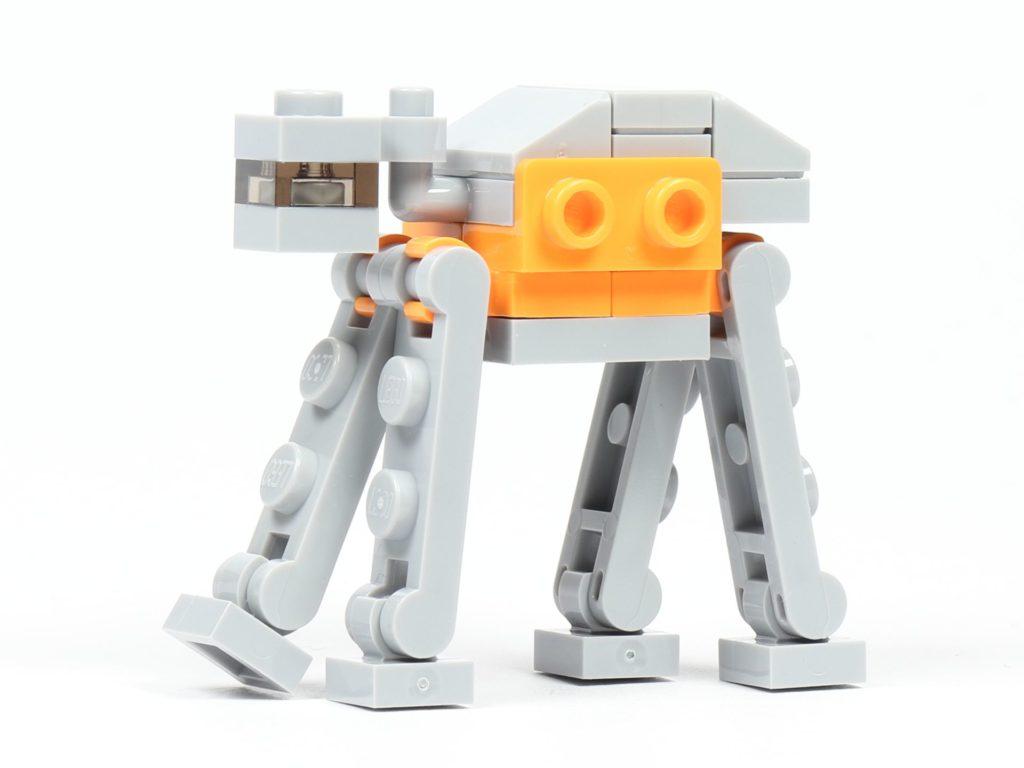 LEGO® Star Wars™ 75213 Adventskalender 2018 - Tür 19 - AT-ACT, linke Seite | ©Brickzeit