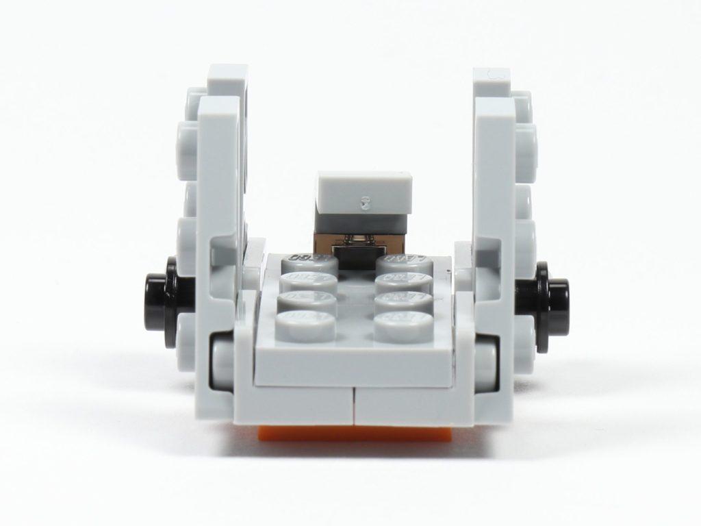 LEGO® Star Wars™ 75213 Adventskalender 2018 - Tür 20 - Zeta-Klasse Shuttle, Rückseite | ©Brickzeit