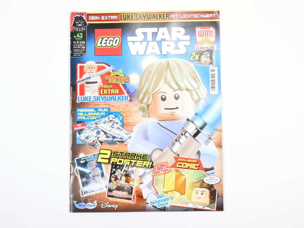 LEGO® Star Wars™ Magazin 43 - Cover | ©2018 Brickzeit