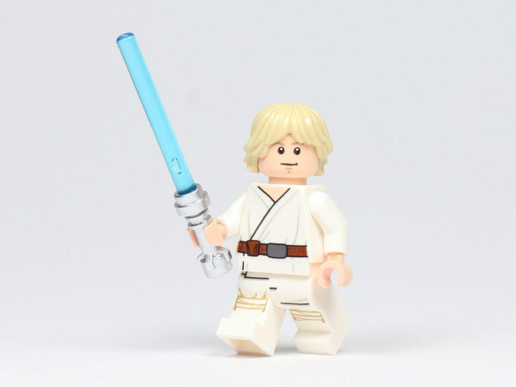 LEGO® Star Wars™ Magazin 43 - Luke Skywalker mit Lichtschwert | ©2018 Brickzeit