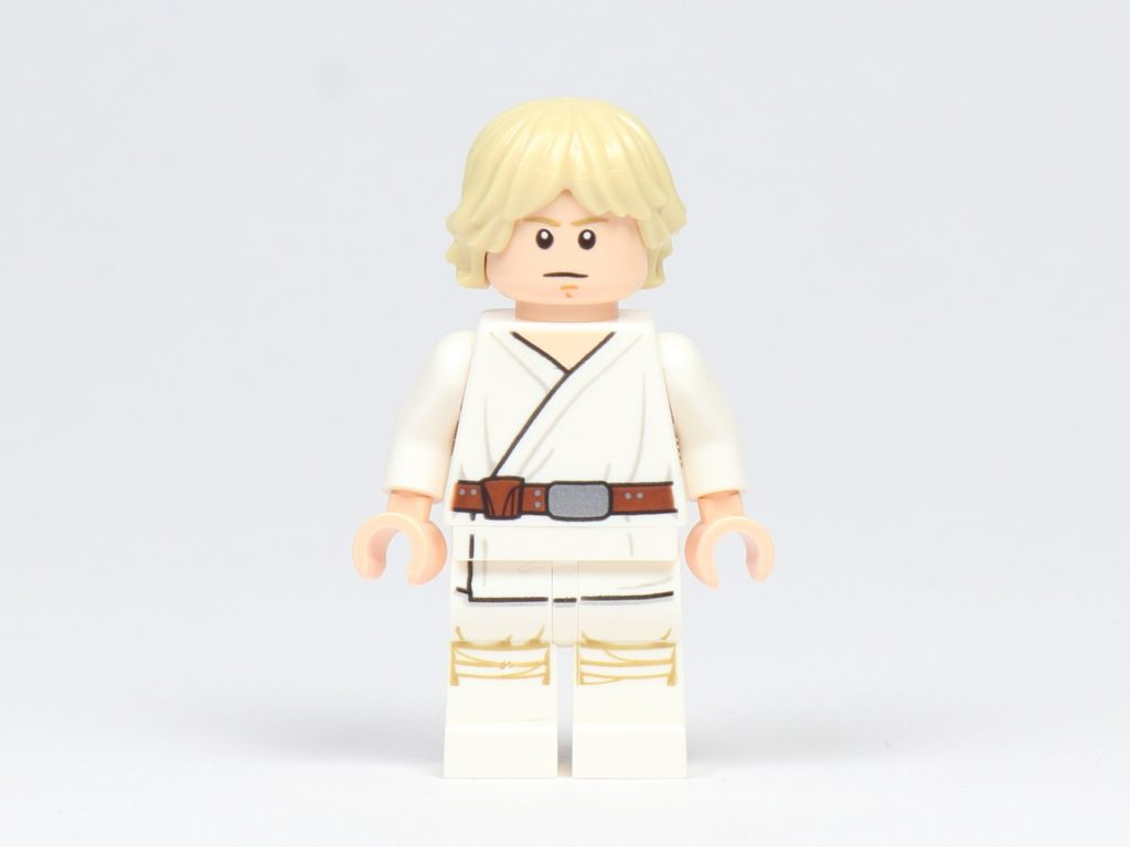 LEGO® Star Wars™ Magazin 43 - Luke Skywalker, Vorderseite mit alternativem Gesicht | ©2018 Brickzeit