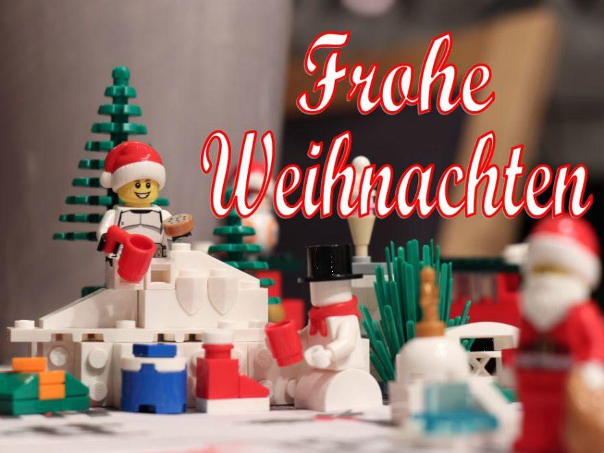Frohe Weihnachten 2018 | ©Brickzeit