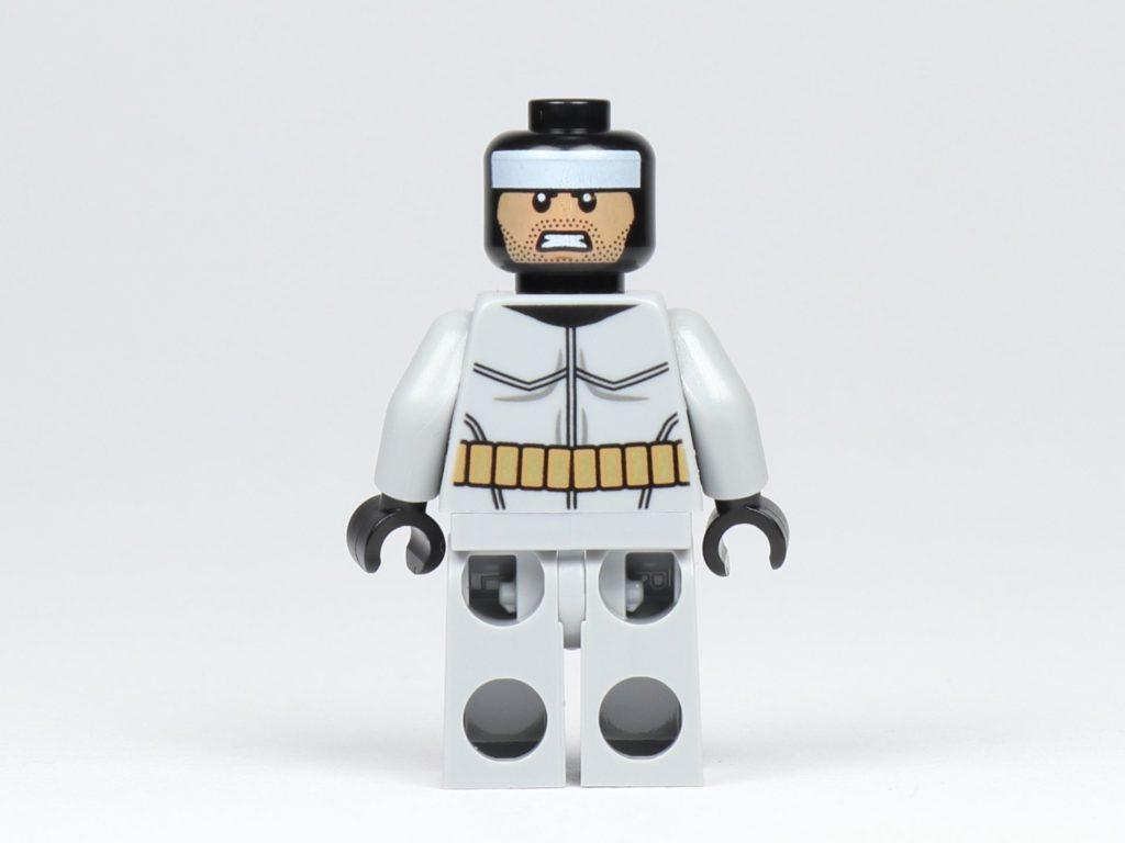 LEGO® BATMAN™ Magazin Nr. 1 - Batman Figur, Rückseite ohne Zubehör | ©2019 Brickzeit