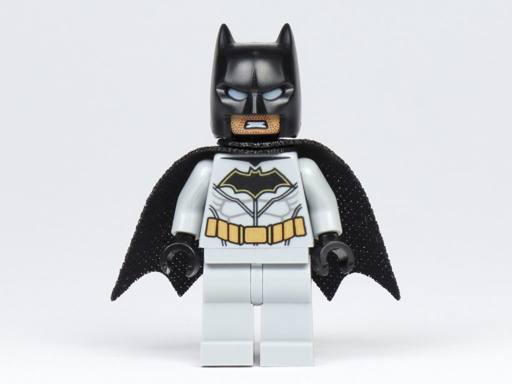 LEGO® BATMAN™ Magazin Nr. 1 - Batman Figur, Vorderseite, alternatives Gesicht | ©2019 Brickzeit
