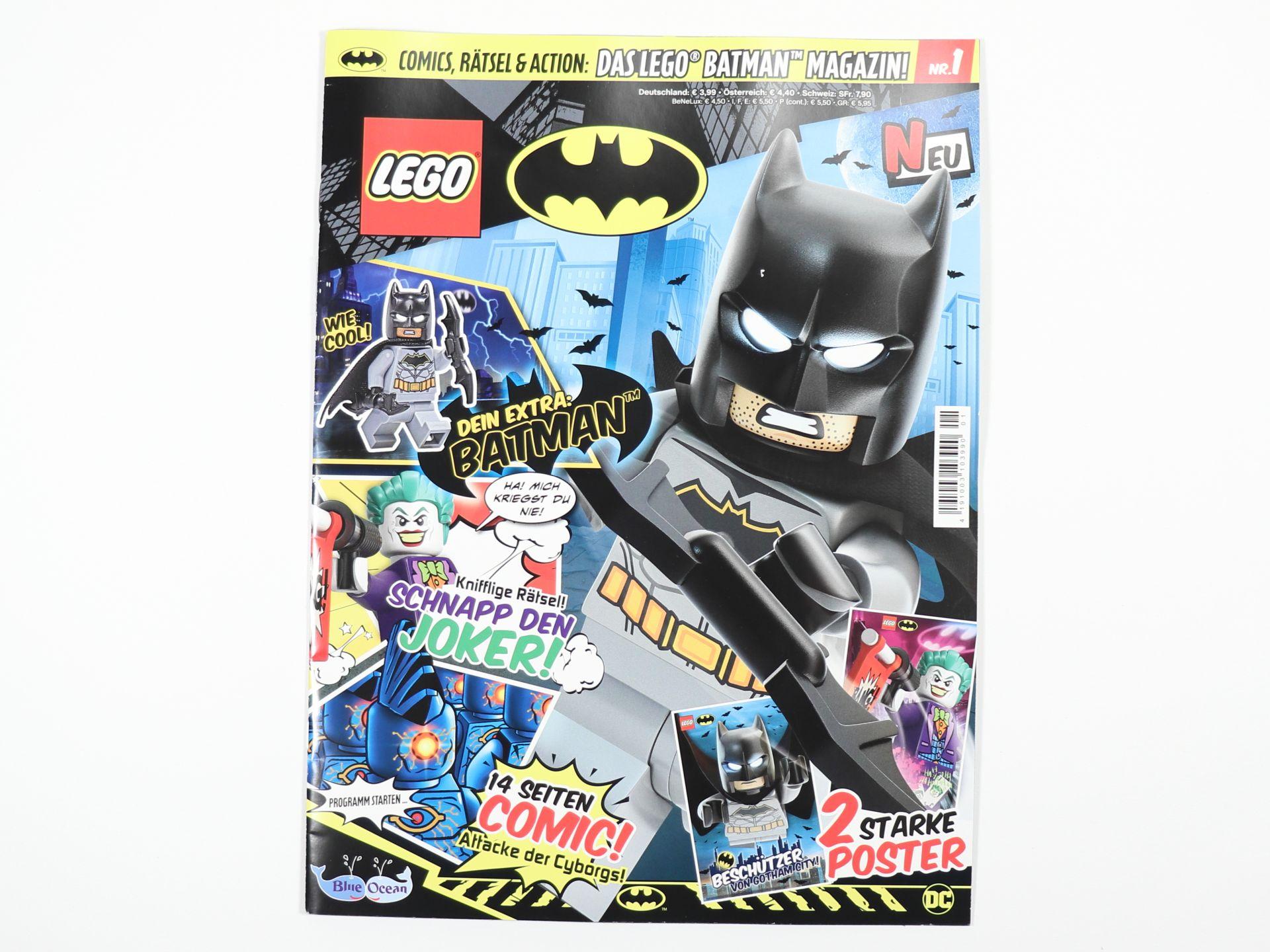 review lego batman magazin nr 1 brickzeit. Black Bedroom Furniture Sets. Home Design Ideas