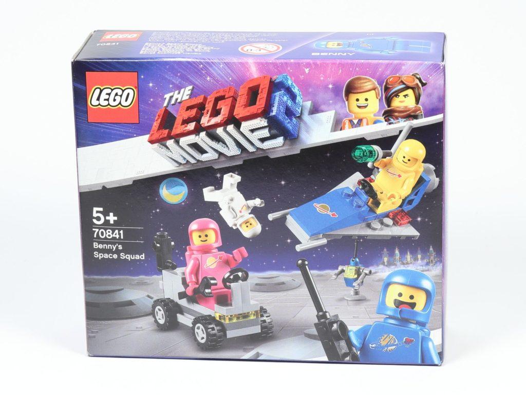 LEGO® Movie 2 70841 Bennys Weltraum-Team - Packung, Vorderseite | ©2019 Brickzeit