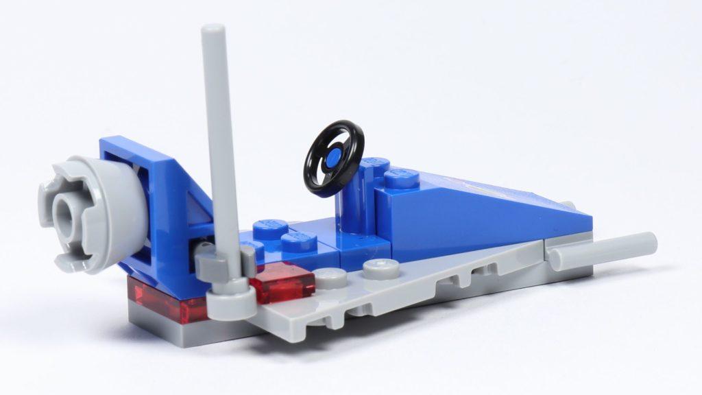 LEGO® Movie 2 70841 Bennys Weltraum-Team - Raumschiff, hinten rechts | ©2019 Brickzeit
