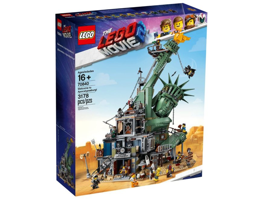 The LEGO Movie 2 - 70840 - Welcome to Apocalypseburg / Willkommen in Apokalypstadt - Titelbild | ®LEGO Gruppe