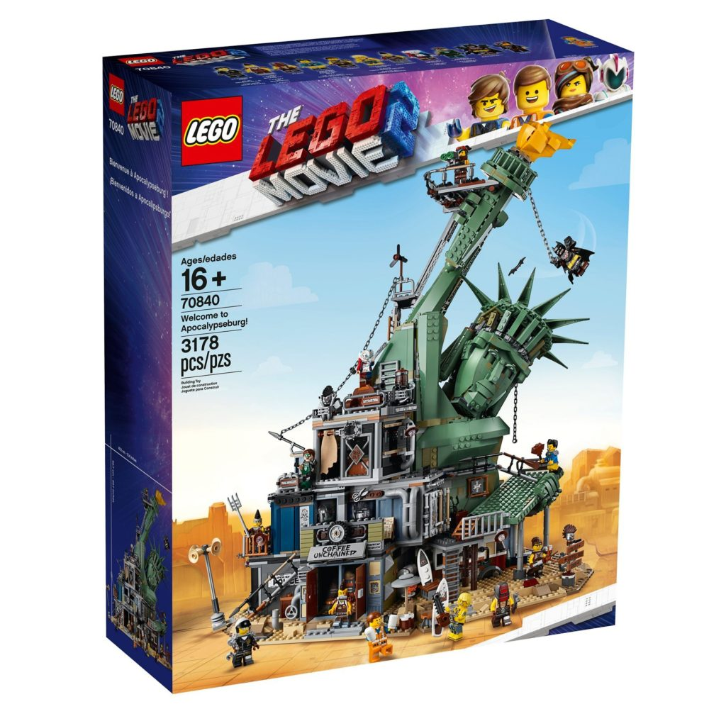 The LEGO Movie 2 - 70840 - Welcome to Apocalypseburg - Packung Vorderseite | ®LEGO Gruppe