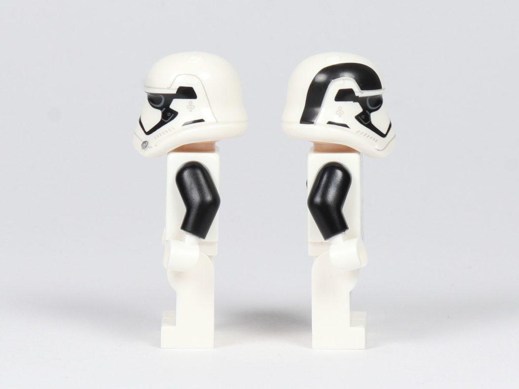 LEGO® Star Wars™ 75197 First Order Executioner Trooper, rechte und linke Seite | ©2019 Brickzeit