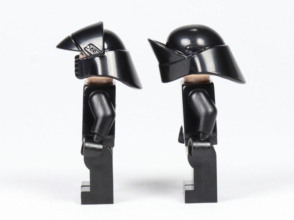 LEGO® Star Wars™ 75197 First Order Shuttlepilot und Schütze, linke Seite | ©2019 Brickzeit