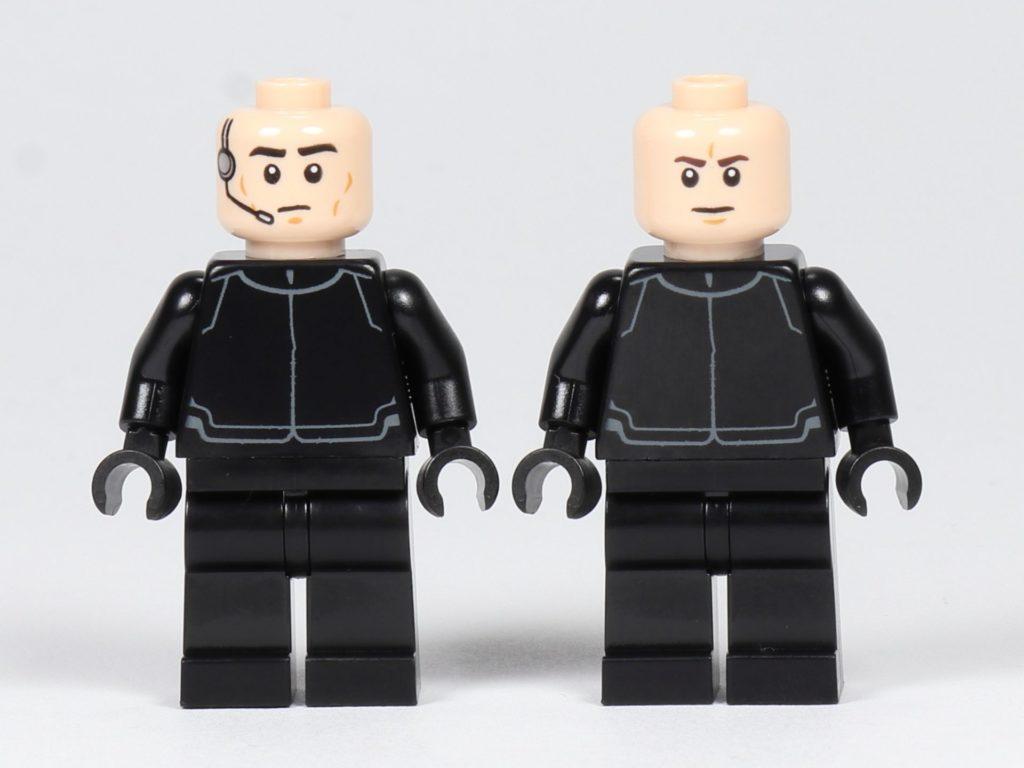 LEGO® Star Wars™ 75197 First Order Shuttlepilot und Schütze, ohne Helm | ©2019 Brickzeit